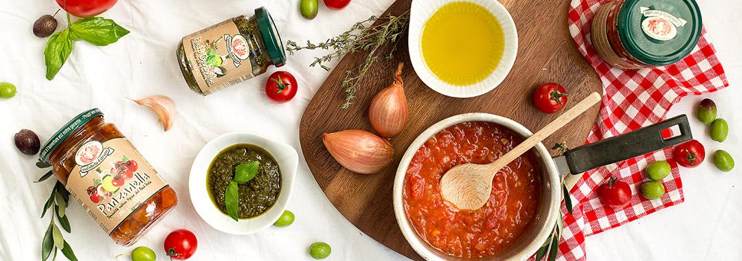 Saucen und Pesto