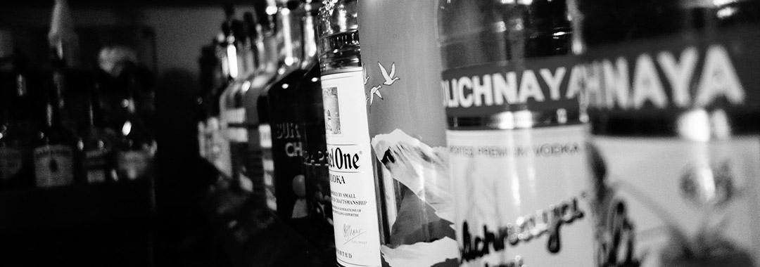 gin, vodka und andere