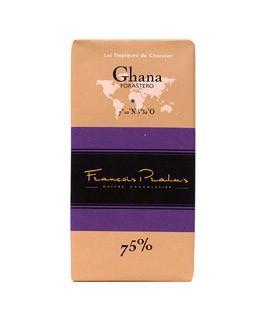 Schwarze Schokoladetafel Ghana - Pralus