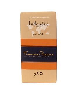 Schwarze Schokoladetafel Indonesien - Pralus