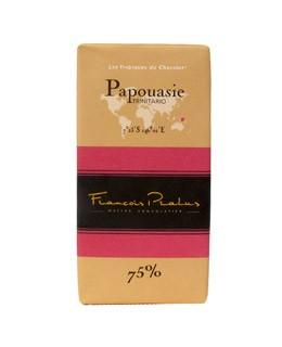 Schwarze Schokoladetafel Papua-Neuguinea - Pralus