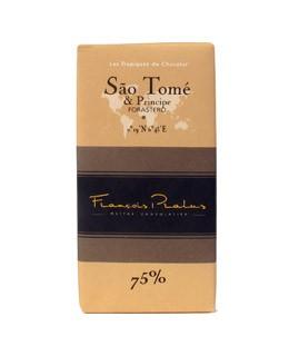 Schwarze Schokoladetafel Sao-Tomé - Pralus
