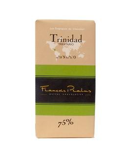 Schwarze Bio-Schokoladetafel Trinidad - Pralus