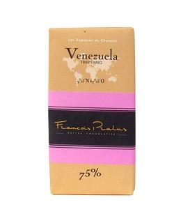 Schwarze Bio-Schokoladetafel Venezuela - Pralus