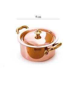 Schmortopf  mit Deckel 9 cm - M'minis 150s - Mauviel