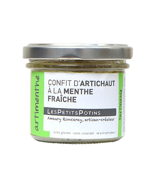 Artischocken-Confit mit Minze - Les Petits Potins