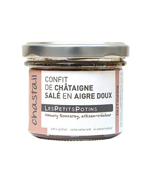 Süßsaure Kastaniencreme-Suppe - Les Petits Potins