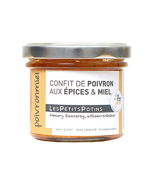 Paprikaconfit mit Gewürzen und Honig - Les Petits Potins