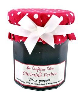 """Marmelade """"Vieux Garçon""""  mit Blaubeeren und Himbeeren in Kirschwasser - Christine Ferber"""
