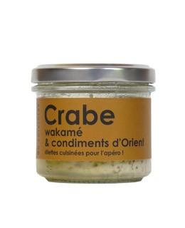 Krabbe, Wakame und Gewürze aus dem Osten - L'Atelier du Cuisinier