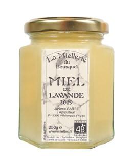 Bio Lavendelhonig - Miellerie du Bousquet