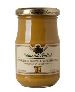 Senf aus Dijon mit Honig und Balsamico-esssig - Fallot