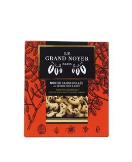 geröstete Cashewnüsse mit schwarzen und goldenen Sesam - Le Grand Noyer