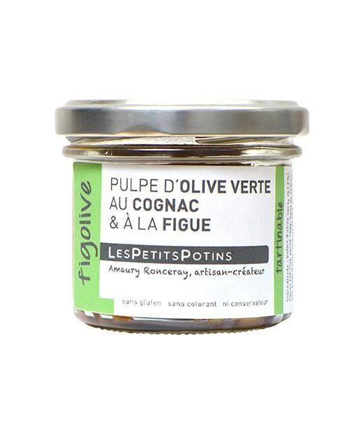 Grüne Olivenpaste Cognac - Les Petits Potins