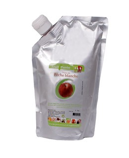 Weißer-Pfirsich-Püree - Capfruit
