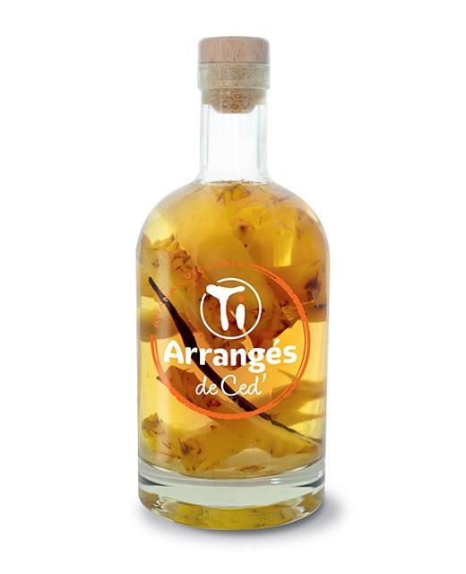 Flavoured Rum  Victoria Ananas - Les Rhums de Ced'