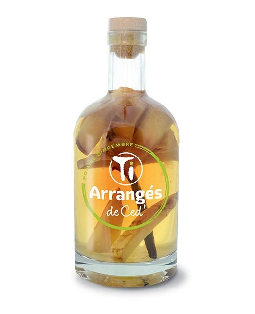 Flavoured Rum Apfel und Ingwer - Les Rhums de Ced'