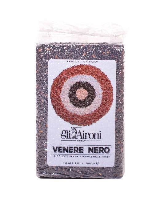 Schwarzer Reis 1kg - Gli Aironi