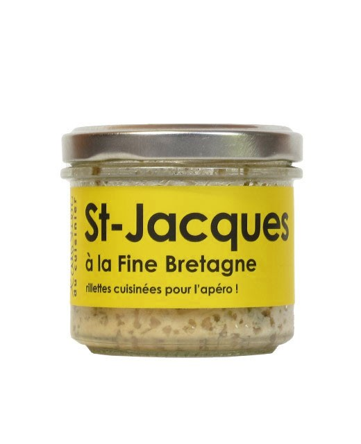 Jakobsmuschel à la Bretagne - L'Atelier du Cuisinier