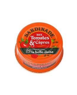 Sardinade mit Tomaten und Kapern - La Belle-Iloise