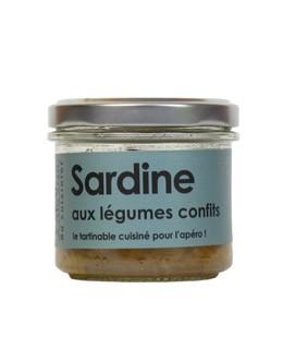 Sardinen mit Gemüseconfit - L'Atelier du Cuisinier