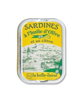 Sardinen mit Olivenöl und Zitrone - La Belle-Iloise