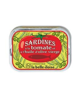 Sardinen in Olivenöl mit Tomaten - La Belle-Iloise