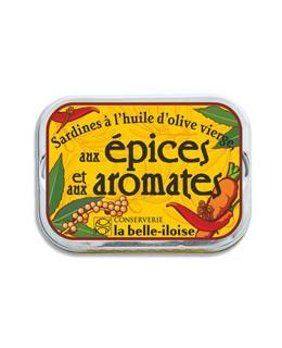 Sardinen in nativen Olivenöl mit Gewürzen und Kräuter - La Belle-Iloise