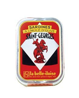 Sardinen in extra nativen Olivenöl aus Saint-George - La Belle-Iloise