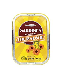 Sardinen in Sonnenblumenöl - La Belle-Iloise