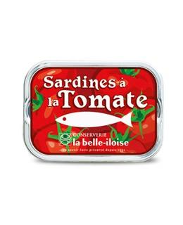Sardinen in Sonnenblumenöl und Tomaten - La Belle-Iloise