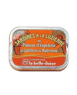 Sardinen à la luzienne - La Belle-Iloise
