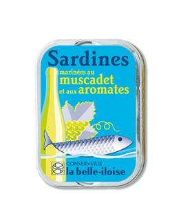 marinierte Sardinen in Muskat und Kräuter - La Belle-Iloise