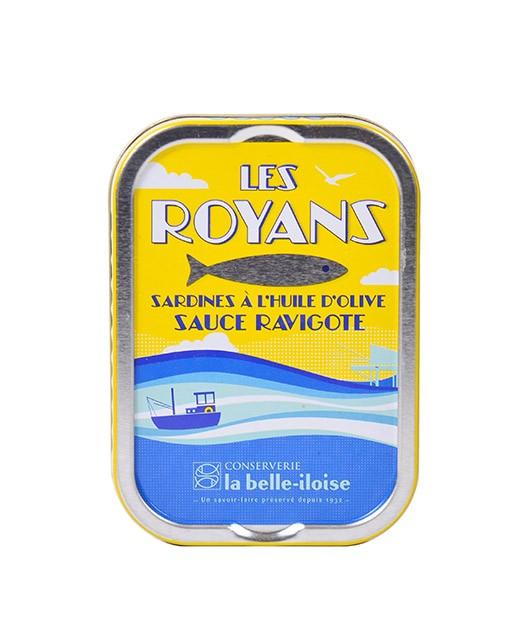 Sardines à la Royan Ravigotte (mit eingelegtem Gemüse) - La Belle-Iloise