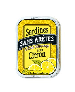 Sardinen ohne Gräten mit Olivenöl und Zitrone - La Belle-Iloise