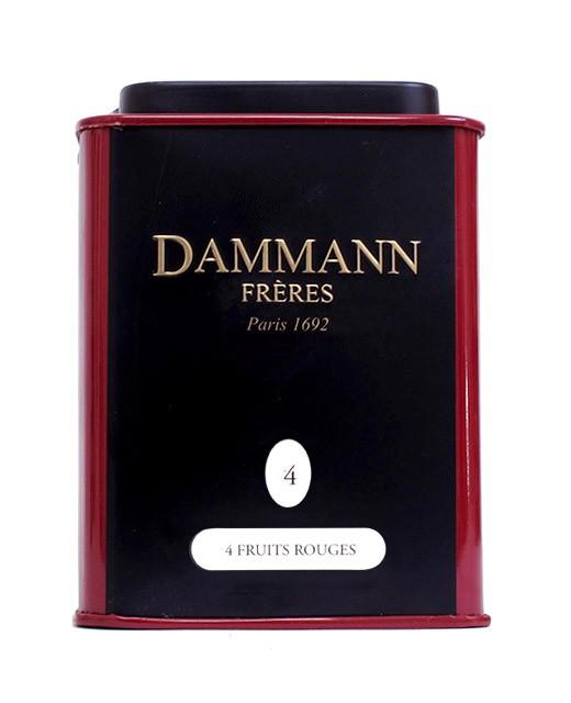 4 rote Früchte Tee - Dammann Frères