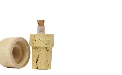 Ausgießer mit einem Naturkorken 500 ml  - La Guinelle