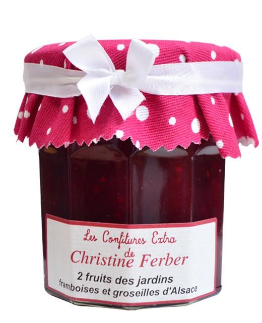Marmelade aus zwei roten Früchten - Himbeere und Stachelbeeren - Christine Ferber