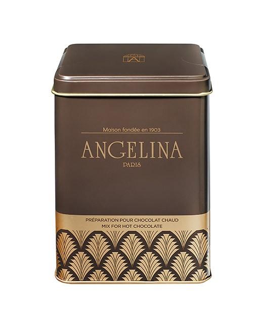 heiße Schokolade nach alter Art als Puder - Angelina