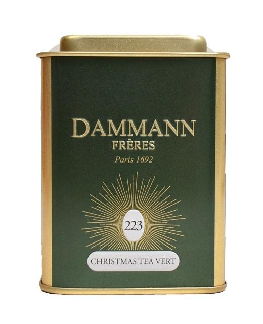 Christmas Tea Vert / Grüner Weihnachtstee - Dammann Frères