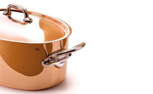 ovaler Schmortopf 30 cm - M'héritage 150s - Mauviel
