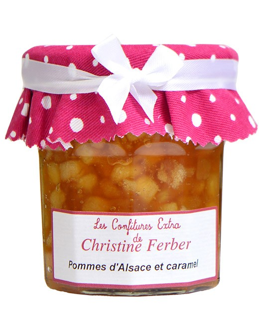 Apfelmarmelade mit Karamell  - Christine Ferber