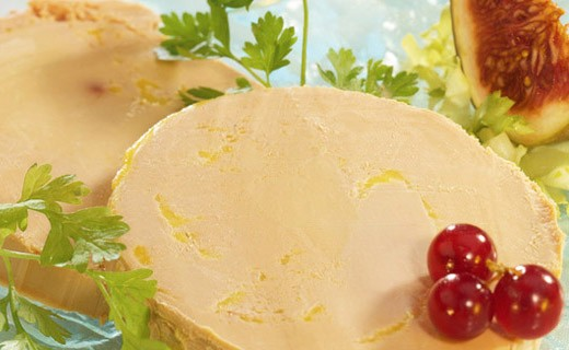Ganze Enten Foie gras mit Espeletten Pfeffer - Dupérier