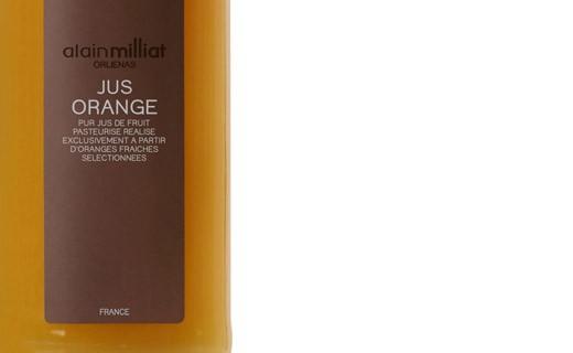 Heller Orangensaft - Alain Milliat