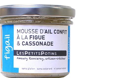 Mousse d'ail confit à la figue et à la cassonade - Figail - Les Petits Potins