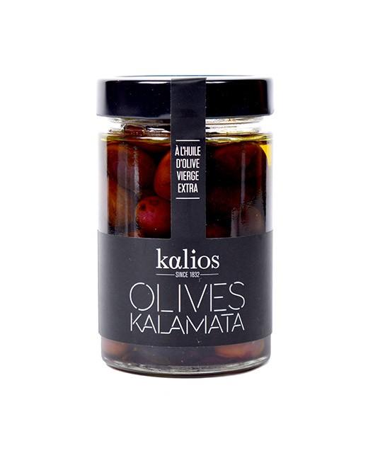 Kalamata Oliven in Olivenöl eingelegt - Kalios