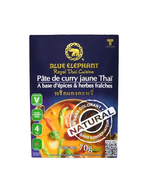 gelbe Curry Paste - Blue Elephant
