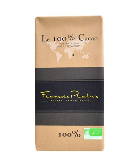 Schwarze 100% Bio-Schokoladetafel Madagaskar - Pralus