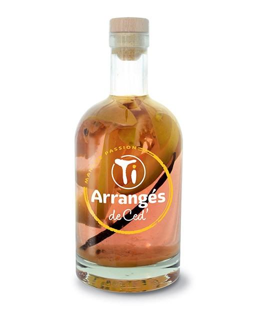 Flavoured Rum  Mango und Maracuja - Les Rhums de Ced'