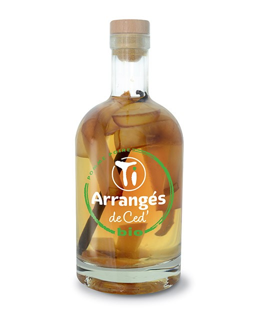 Flavoured Rum  Apfel und Birne - Bio - Les Rhums de Ced'